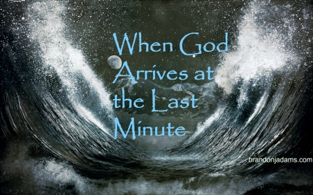 Time winding down on God's answer?