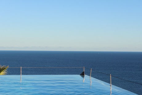 Hotel Summer Pool Infinity Luxury Sea Sky Water