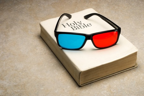 Scripture Religion 3d Faith Glasses Bible Book